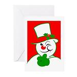 Cool Yule Blank Greeting Cards (Pk of 10)