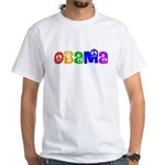 Obama for Peace White T-Shirt