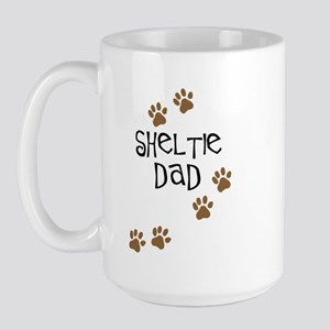 Sheltie Dad Large Mug