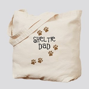 Sheltie Dad Tote Bag