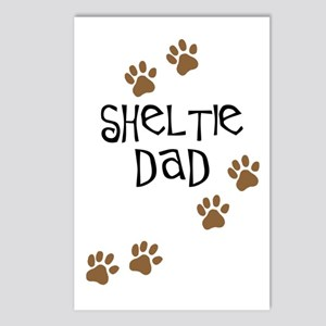 Sheltie Dad Postcards (Package of 8)