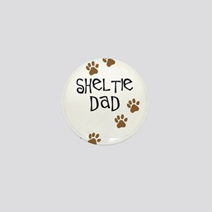 Sheltie Dad Mini Button