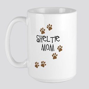 Sheltie Mom Large Mug