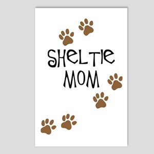 Sheltie Mom Postcards (Package of 8)