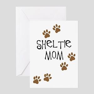 Sheltie Mom Greeting Card