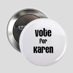 Vote for Karen Button