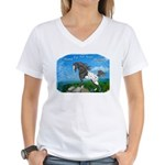 Appaloosa Dreams Women's V-Neck T-Shirt