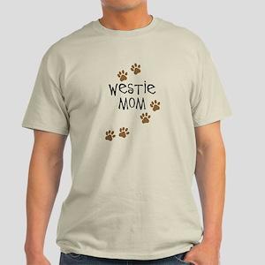 Westie Mom Light T-Shirt