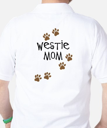Westie Mom Golf Shirt