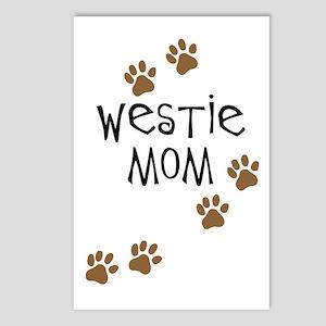 Westie Mom Postcards (Package of 8)