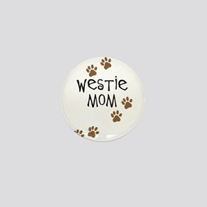 Westie Mom Mini Button