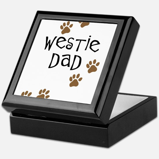 Westie Dad Keepsake Box