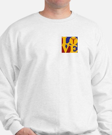 Weight Lifting Love Sweater
