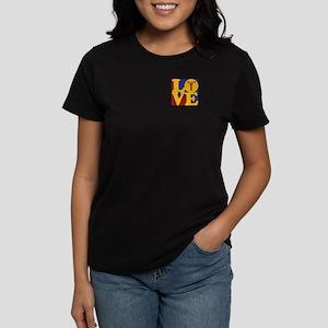Weight Lifting Love Women's Dark T-Shirt