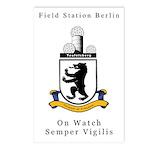 Field Station Berlin Postcards (Pk of 8)