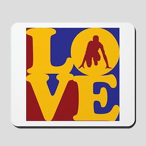 Track Love Mousepad