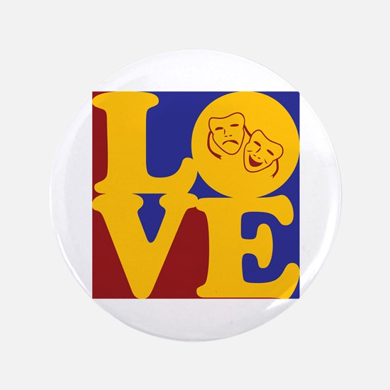 "Theater Love 3.5"" Button"