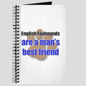 English Foxhounds man's best friend Journal