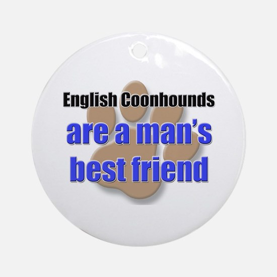 English Coonhounds man's best friend Ornament (Rou
