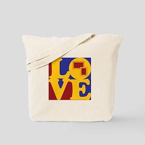 Stamps Love Tote Bag
