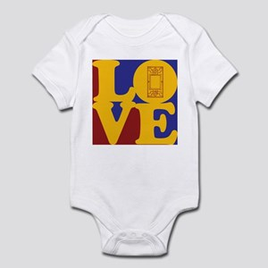 Stained Glass Love Infant Bodysuit