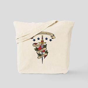 Love Scrapbooking Tote Bag