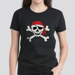 Funny Pirate Women's Dark T-Shirt