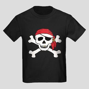 Funny Pirate Kids Dark T-Shirt