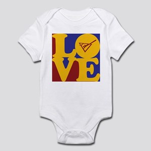 Shuffleboard Love Infant Bodysuit