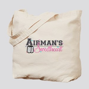 Airman's Sweetheart Tote Bag
