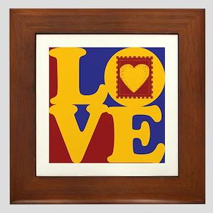 Scrapbooking Love Framed Tile