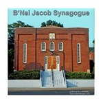 B'Nai Jacob Synogogue Tile Coaster