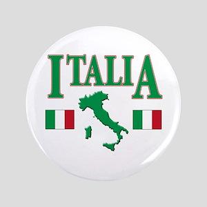 """Italian pride 3.5"""" Button"""