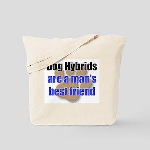 Dog Hybrids man's best friend Tote Bag