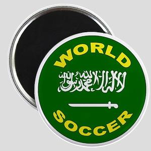 Saudi Arabia World Cup Soccer Magnet