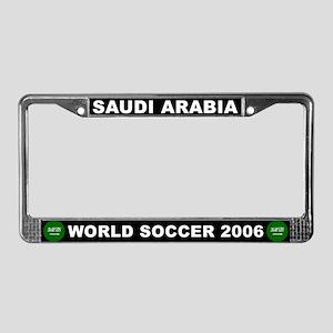 Saudi Arabia World Cup Soccer License Plate Frame