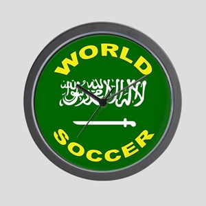 Saudi Arabia World Cup Soccer Wall Clock