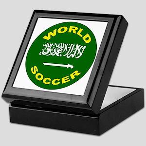 Saudi Arabia World Cup Soccer Keepsake Box