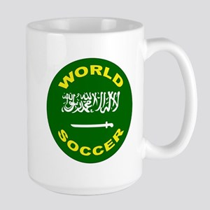 Saudi Arabia World Cup Soccer Large Mug