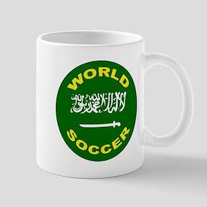 Saudi Arabia World Cup Soccer Mug