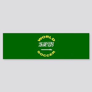Saudi Arabia World Cup Soccer Bumper Sticker