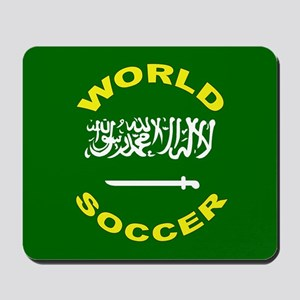 Saudi Arabia World Cup Soccer Mousepad