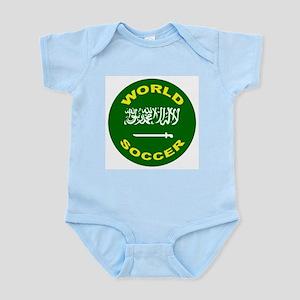 Saudi Arabia World Cup Soccer Infant Creeper
