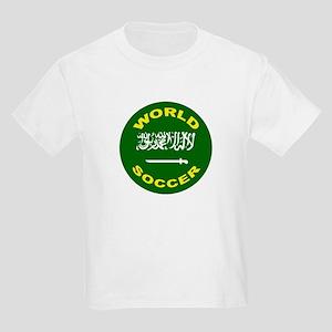Saudi Arabia World Cup Soccer Kids T-Shirt