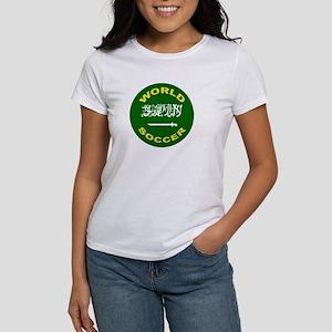 Saudi Arabia World Cup Soccer Women's T-Shirt