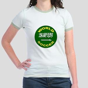 Saudi Arabia World Cup Soccer Jr. Ringer T-Shirt