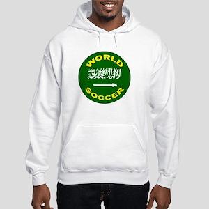 Saudi Arabia World Cup Soccer Hooded Sweatshirt