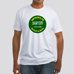 Saudi Arabia World Cup Soccer Fitted T-Shirt