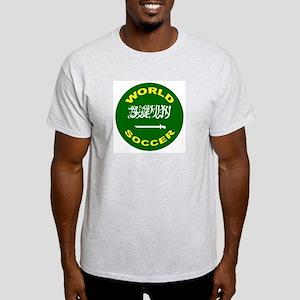 Saudi Arabia World Cup Soccer Ash Grey T-Shirt