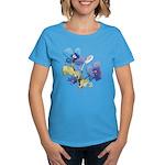 Watercolor Flowers Women's Dark T-Shirt